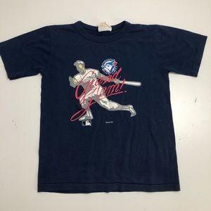 3/$30 Vintage Kids 1993 Medium Blue Jays T-shirt